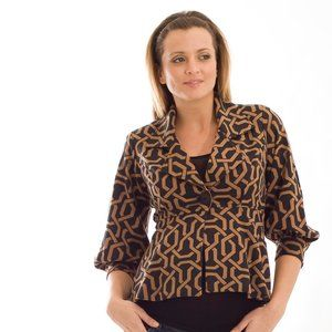 Olian Maternity Brimstone Coat AND Skirt Set